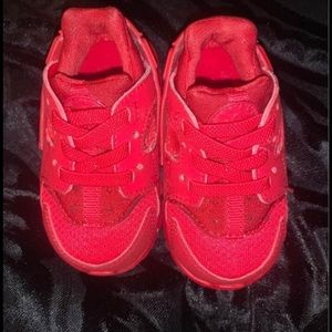 red baby shoes huraches